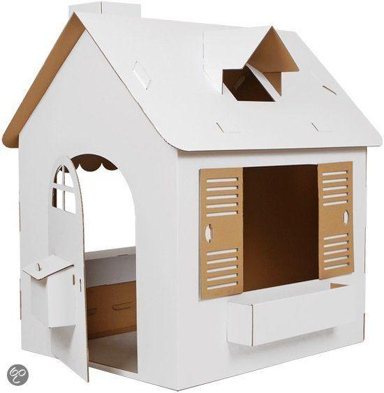 bol.com | Kartonnen Speelhuis | Speelgoed
