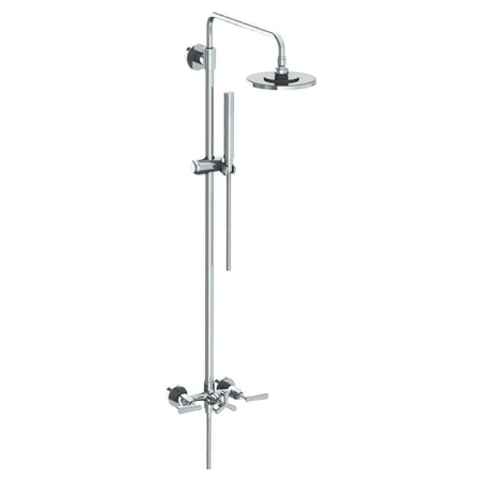Anika 30 Wall Mounted Exposed Shower With Hand Shower