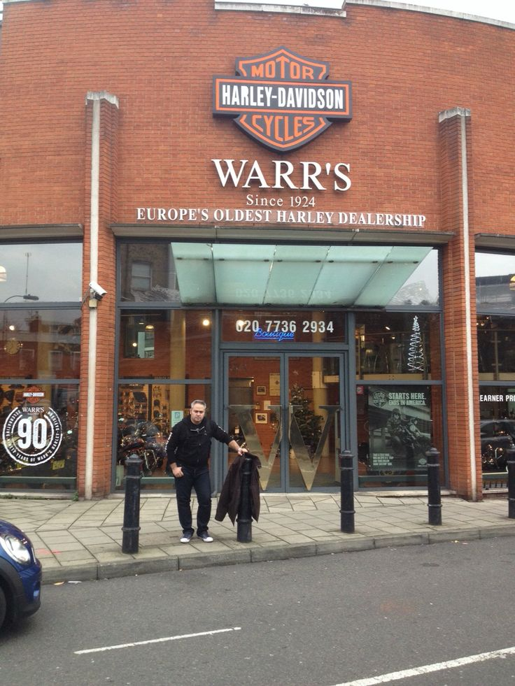 At Warr's in London