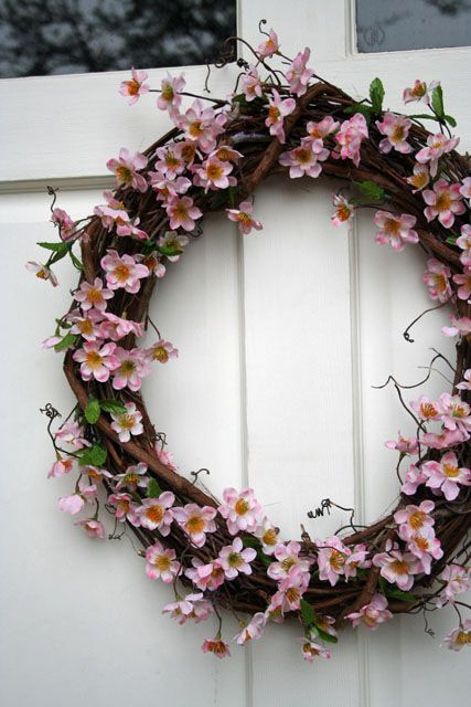 Spring Wreath [Craft It Forward] ~ Be Different...Act Normal