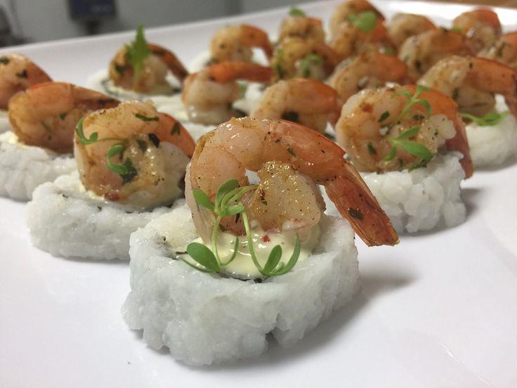 Inside out prawn  sushi   GF  ♥
