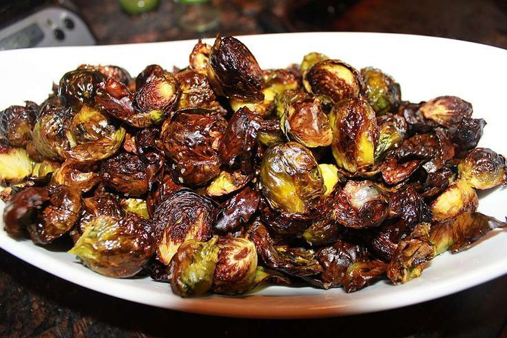 Crispy, perfectly seasoned Brussels sprouts!