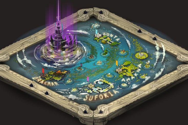 WAKFU new world map v2 by Sevpoolay.deviantart.com on @deviantART