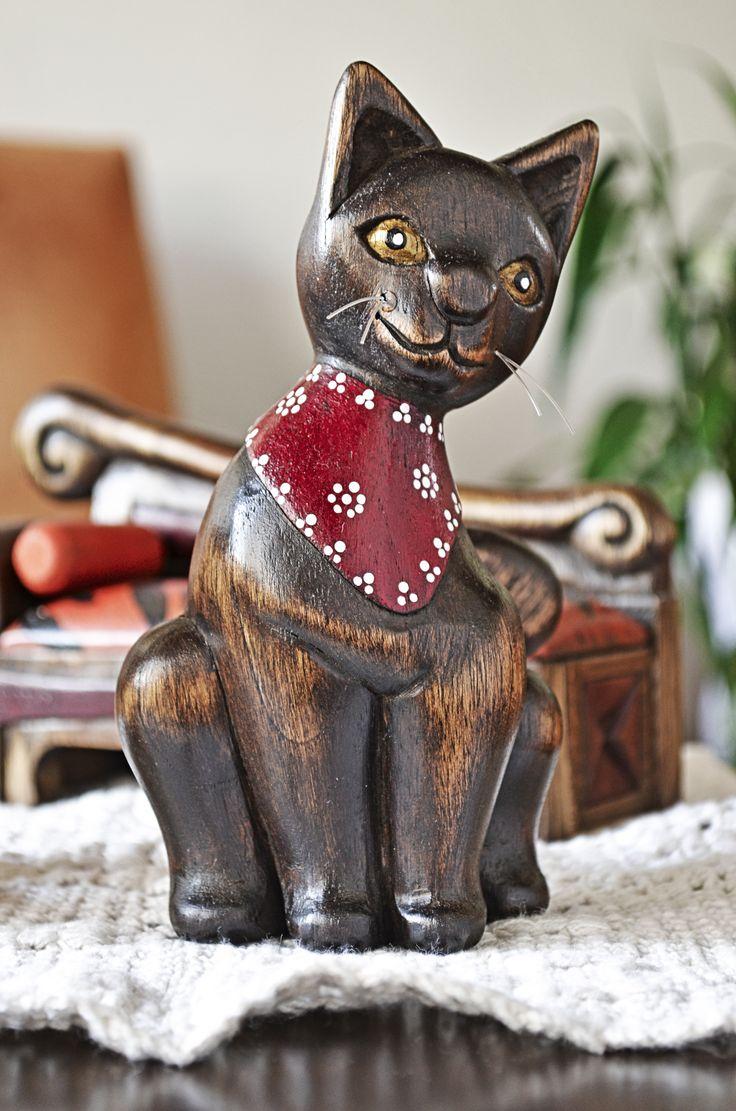 Se busca comunicar el valor decorativo de este objeto de madera.