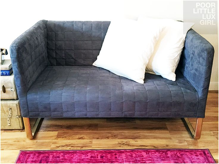 rental sofa timothy oulton price poor little lux girl: small space loveseat that fits in ...