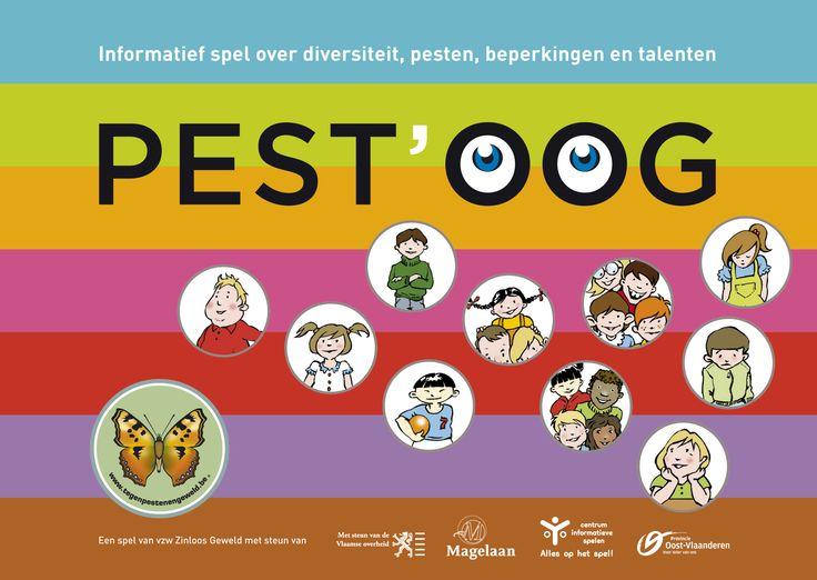 Pest'Oog : informatief spel over diversiteit, pesten, beperkingen en talenten