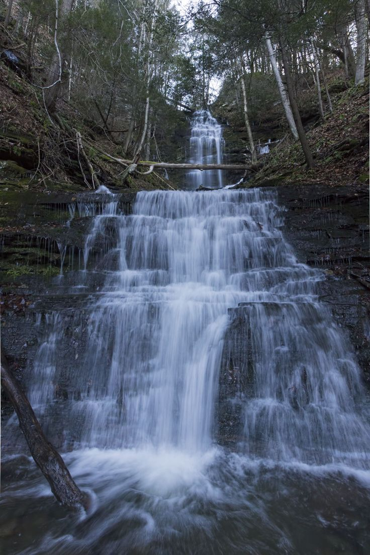 Chimney Hollow Falls, Tioga County, PA. | Favorite ...
