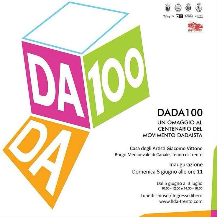A #tenno ben due appuntamenti per gli amanti dell'#arte: le #mostre Dada100 e Le donne gli amori