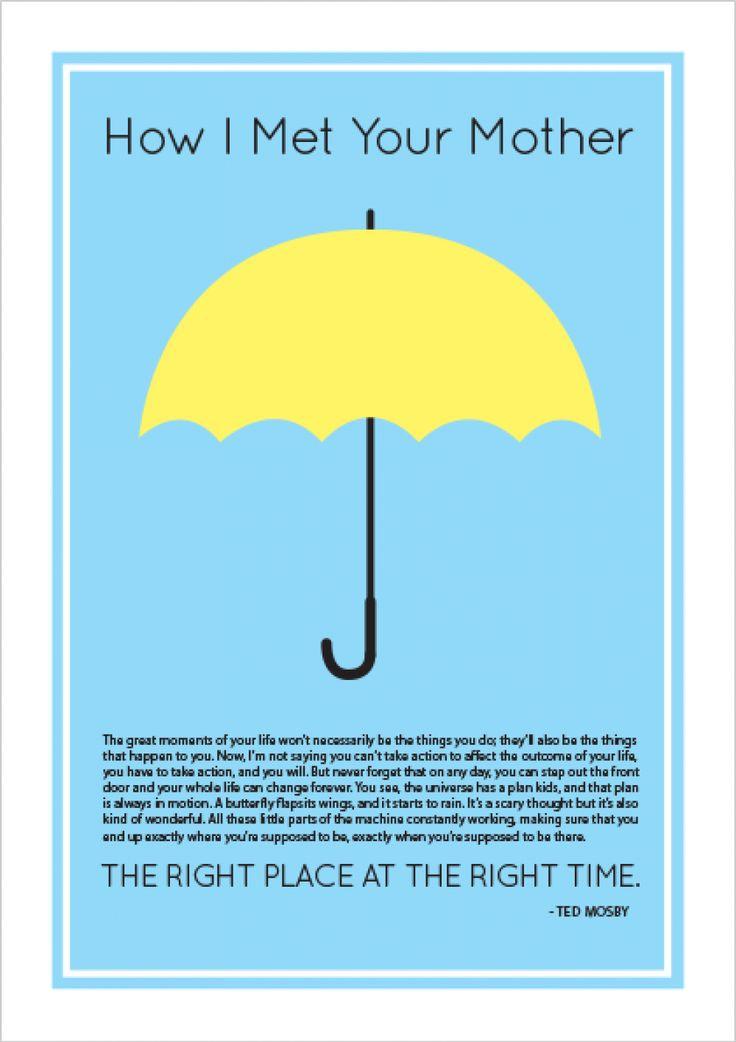 Yellow Umbrella - Todos   Posters Minimalistas