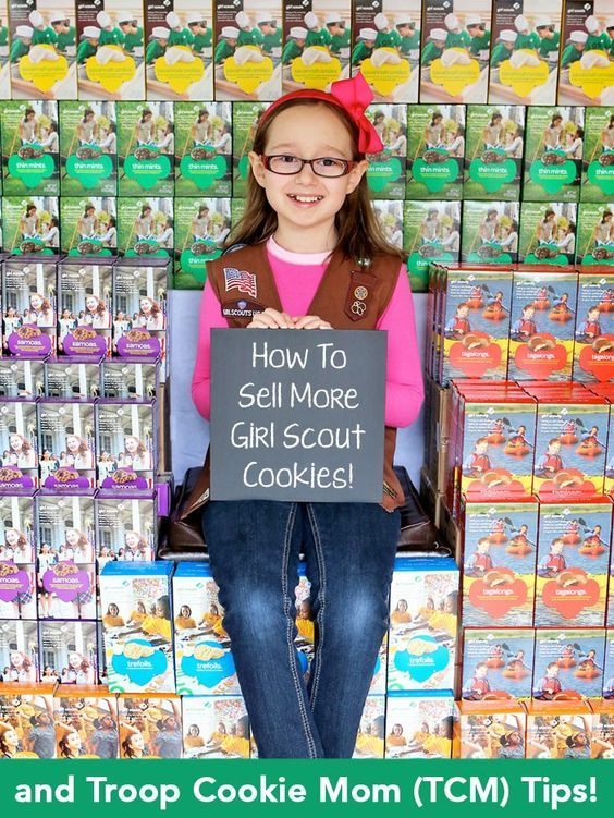 How To Sell More Girl Scout Cookies. Check out these tips and rock those cookie sales!
