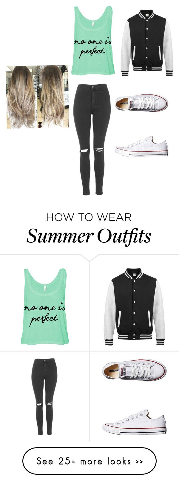 """Last bonfire before school"" by tonyasmith419 on Polyvore featuring Topshop and Converse"