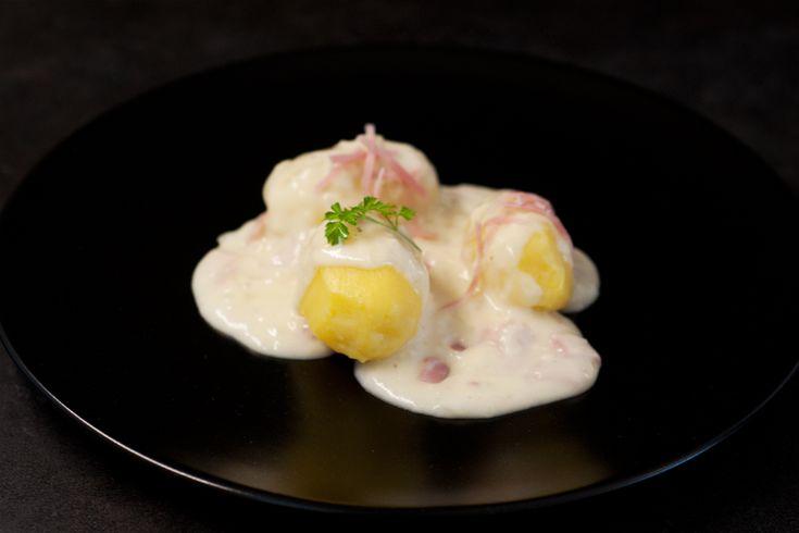 Béchamelkartoffeln Deutsche Hausmannskost kann so lecker sein! #abendessen #kartoffeln #mehlschwitze #sosse #mittagessen #rezept