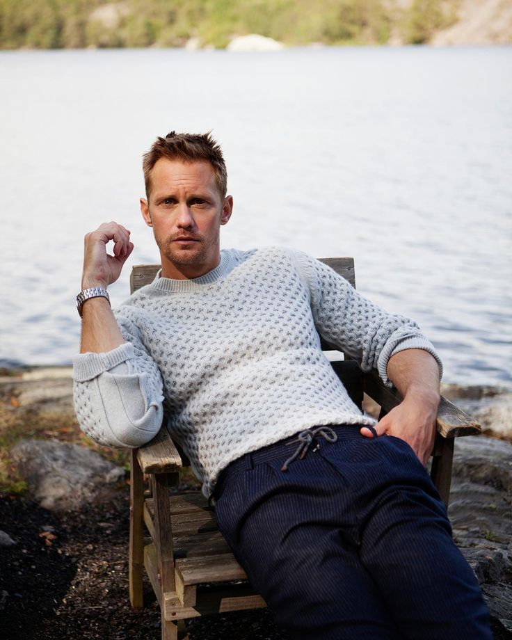 "Alexander Skarsgard in @STStyle Photographed by Andre Wolff [x] Styling: Michael Hennegan Interview: Katie Glass. Full interview follow link. Thanks Skarsjoy! ""2016"""