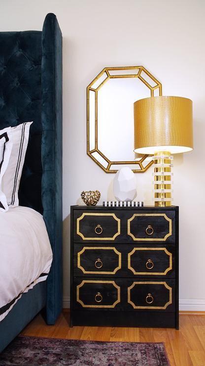 Dorothy Draper style nightstand