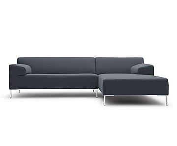 Divano trapuntato ~ Divani angolari i modelli più cool divano angolare blu con