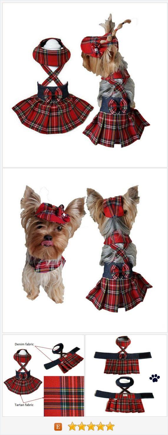 Red #tartan #dog #clothes Tartan dog #pet skirt Dog clothes small Dog clothes red Dog pet clothes Tartan dog dress Small #dogclothes Dog dresses #smalldogclothes https://www.etsy.com/SmallDogFashion/listing/571034039/red-tartan-dog-clothes-tartan-dog-pet?ref=hp_rf