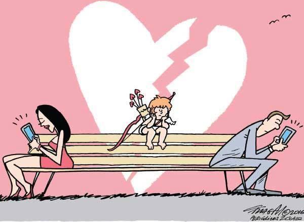 Post  #: A crise tbm chegou aos relacionamentos amorosos