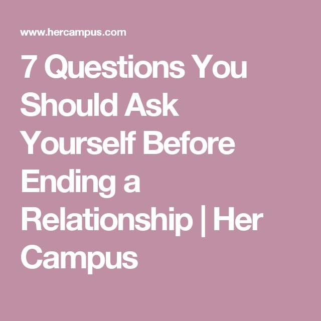 when should you end a relationship quiz