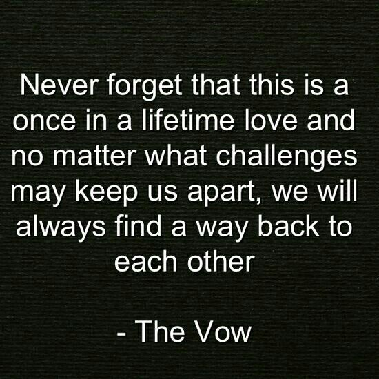 20 Best The Vow Quotes Images On Pinterest