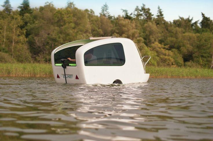 Sealander yüzen karavan - karavan modelleri - karavan iç tasarımı