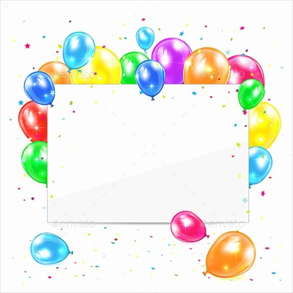 50 Unique Birthday Card Template Free Download In 2020 With