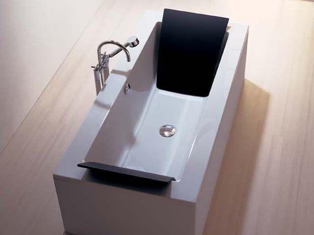 Hoesch Badewanne Zero 6531010 190 x 90 cm, weiss,Hoesch,Rechteck-Badewannen