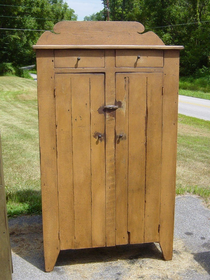 jelly pin cupboards built tin cupboard safe s primitive farm punch antique pie