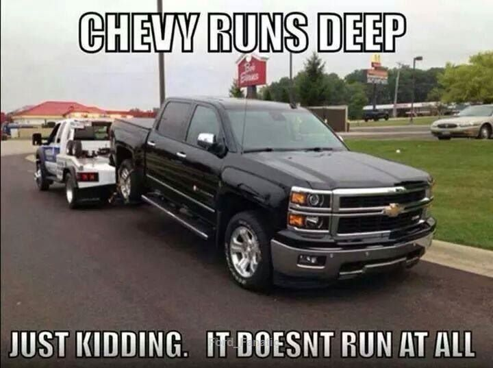 shelbyclassiccars | Chevy memes, Chevy jokes, Ford humor