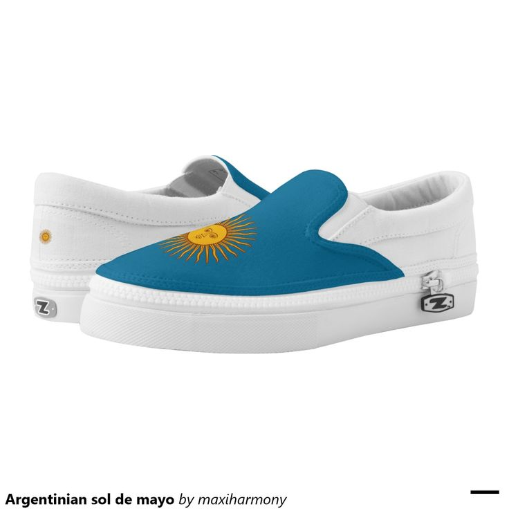 Argentinian sol de mayo printed shoes