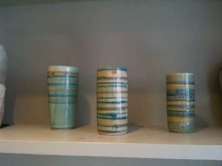 Mount Brandon Pottery vases, simple and elegant - and made locally!