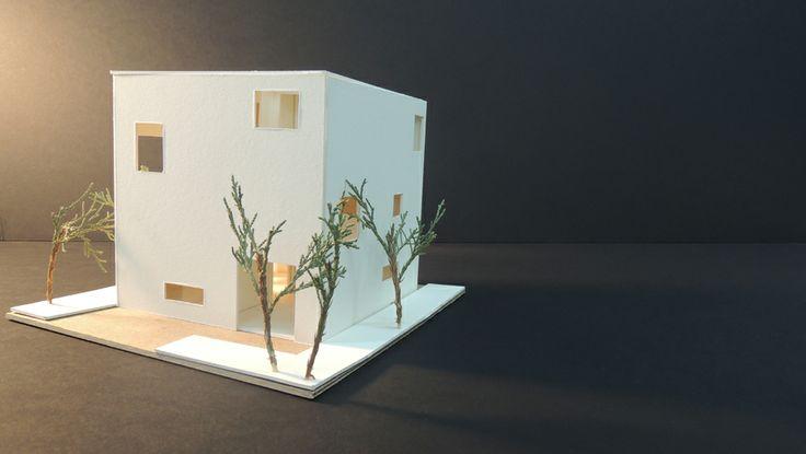 Study model of The House on a Plum Grove by Kazuyo Sejima