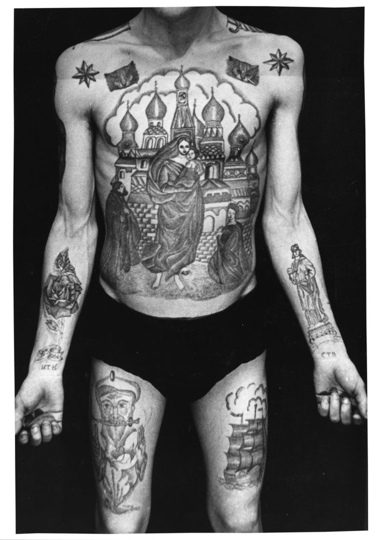 Russian criminal tattoos text on the right wrist reads for Prison tattoo pictures