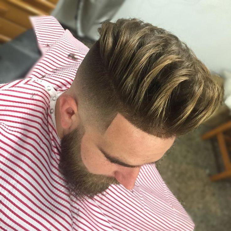 Haircut by jose_pvlgbarbershop http://ift.tt/1SjqNnG #menshair #menshairstyles