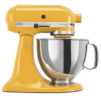 Best Stand Mixers. I read the article, and this Kitchen Aid mixer seems to be what I want. Big enough to do bread (a recipe is usually enough for 2 loaves), and it has different colors- which is fun :)