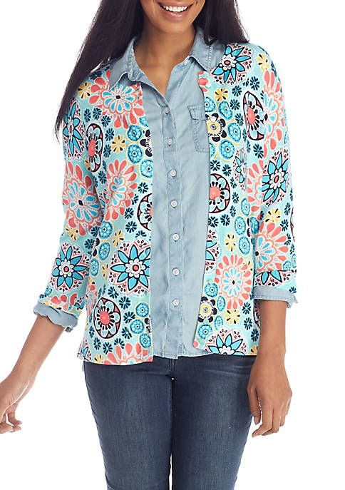 16674407320f3 Crown & Ivy™ Mommy & Me Printed Core Cardigan | Crown & Ivy (my fave ...