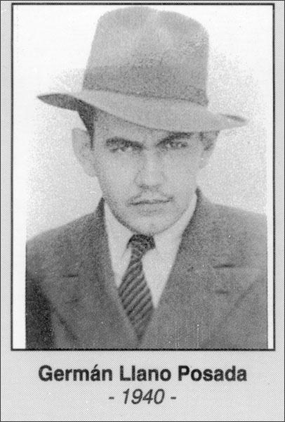 Germán Llano Posada 1940