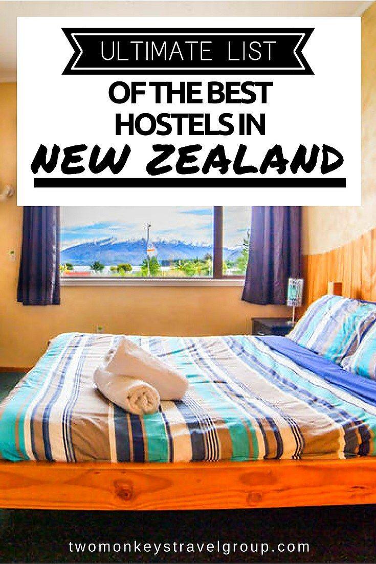 Ultimate List of The Best Hostels in New Zealand @PureNewZealand