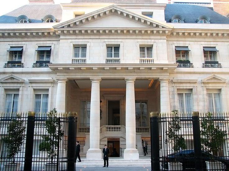Park Hyatt Hotel, cosiderado entre los 10 mejores en el mundo, Buenos Aires