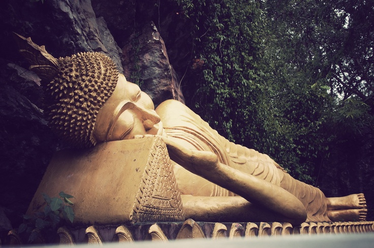 Luang Prabang Buddha by Lilou B