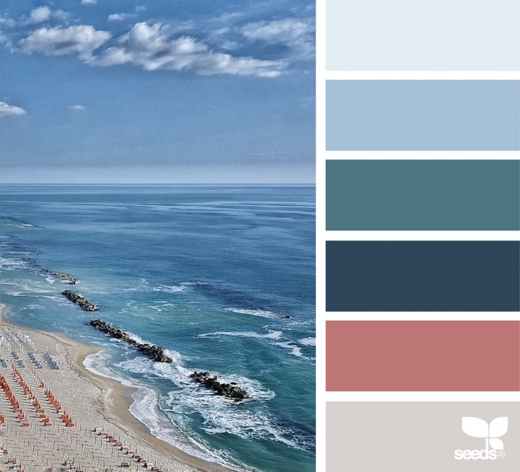Design Seeds celebrate colors found in nature and the aesthetic of purposeful living.