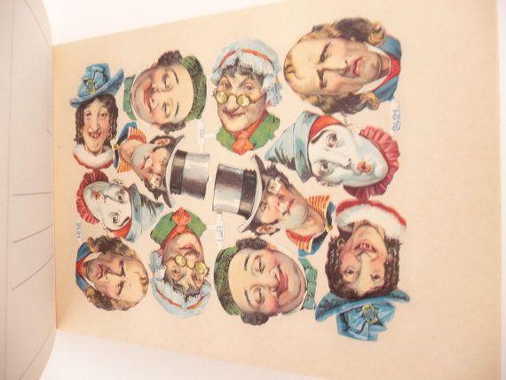 The Victorian Sticker Postcard Book by Elke Droscher