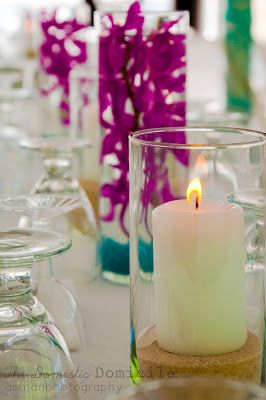 DIY Wedding Revisited: Centerpieces and Decor |The Domestic Domicile