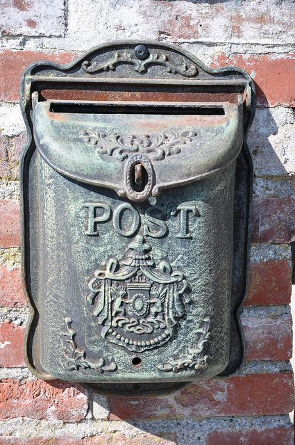 Letterbox in Normandy.  (I didn't know Dad was born in France)