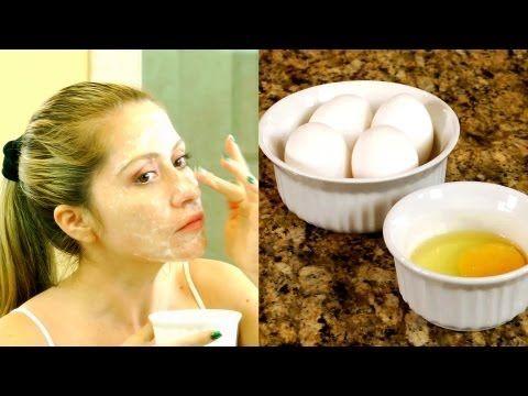 ▶ Anti-aging Beauty Secret - Egg White & Egg Yolk Mask