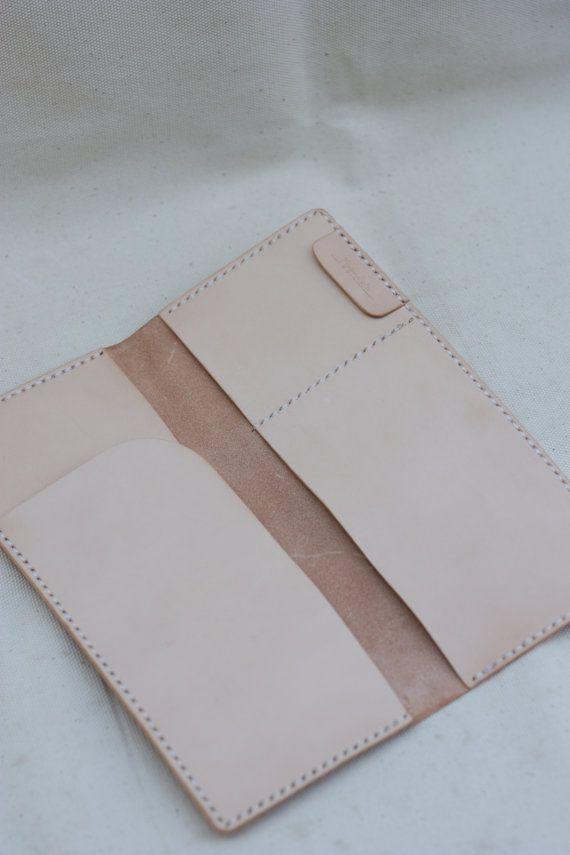 Hand Stitched Leather Passport Case / Passport by Minimaliste, $140.00