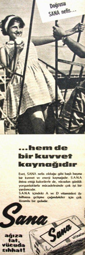 OĞUZ TOPOĞLU : sana margarin 1963 nostaljik eski reklamlar 2