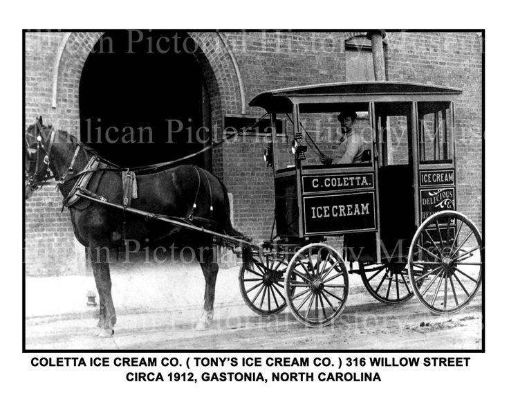Coletta Ice Cream Company ( Tony's Ice Cream Company ), Gastonia, North Carolina | Millican Pictorial History Museum