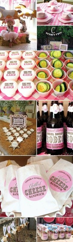 cowgirl kids party