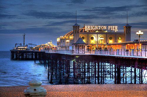Brighton Pier. Considering a move to Brighton. Quite excited.