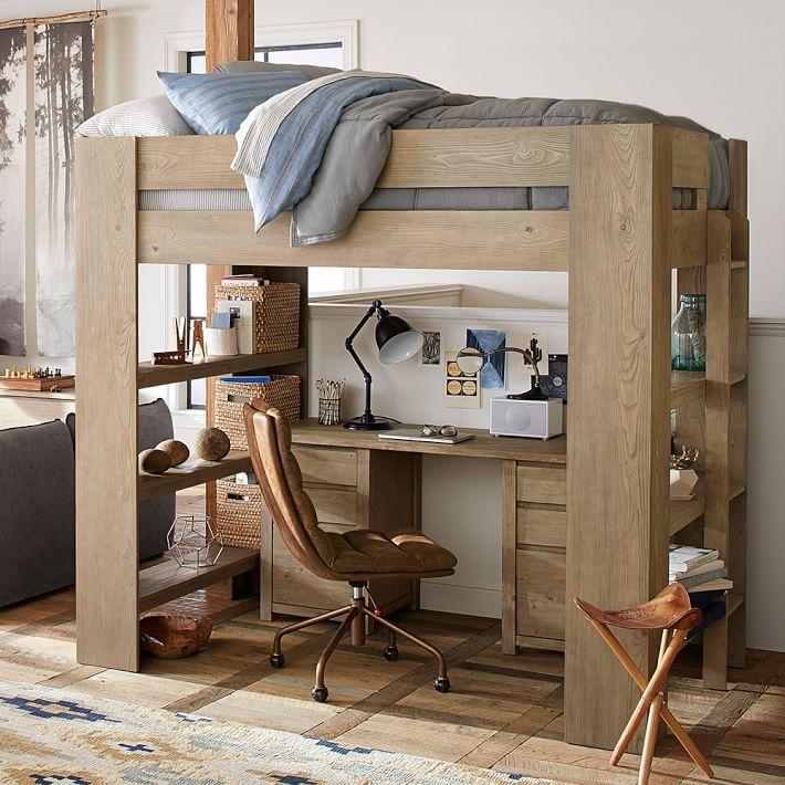 Costa Loft Bed. 64 best Loft bed desks images on Pinterest   Loft bed desk  Lofted